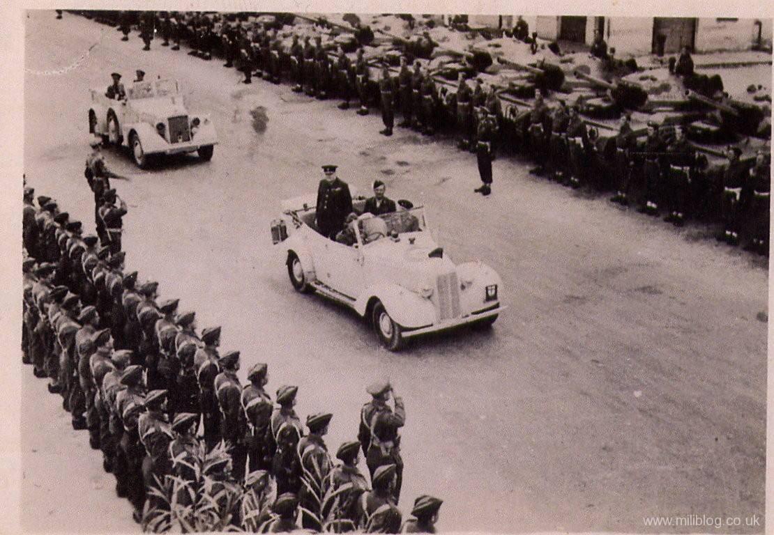 Horch 901 captured by British