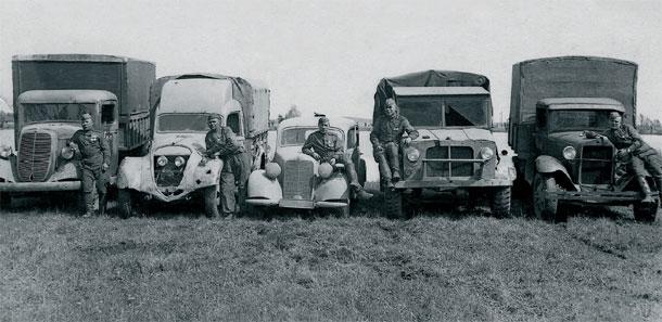 Mercedes 170V в Красной Армии