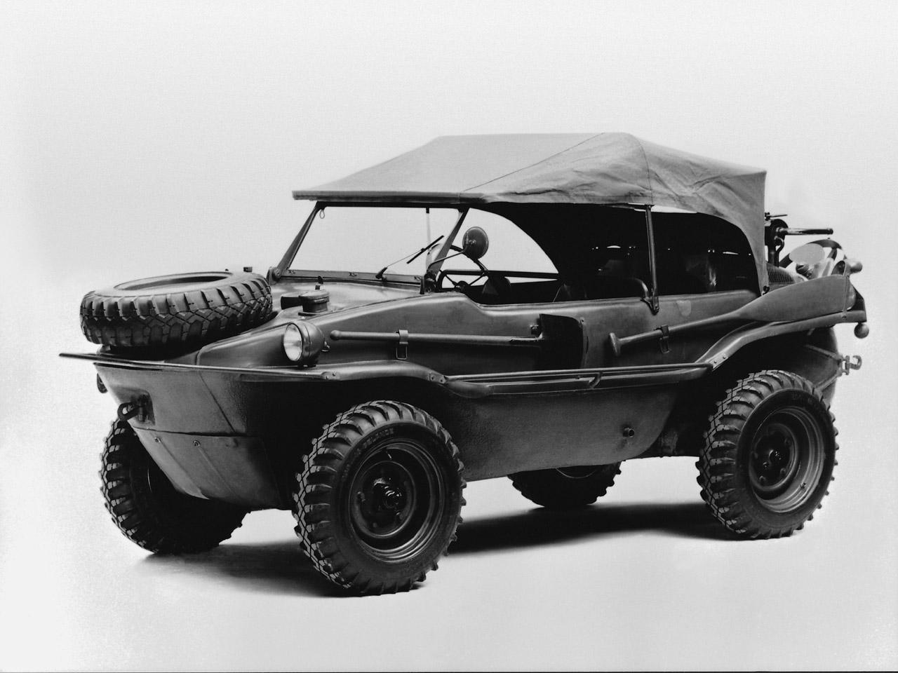 VW 166 Schwimmwagen 1943