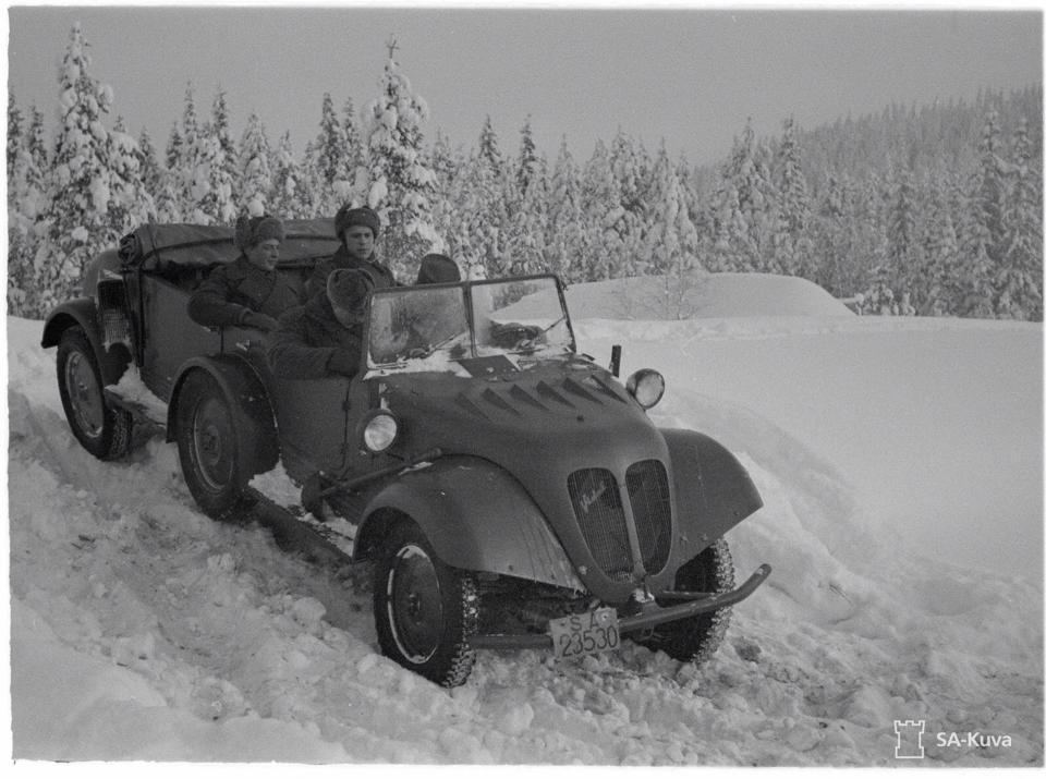 Tempo G1200 Finland Army