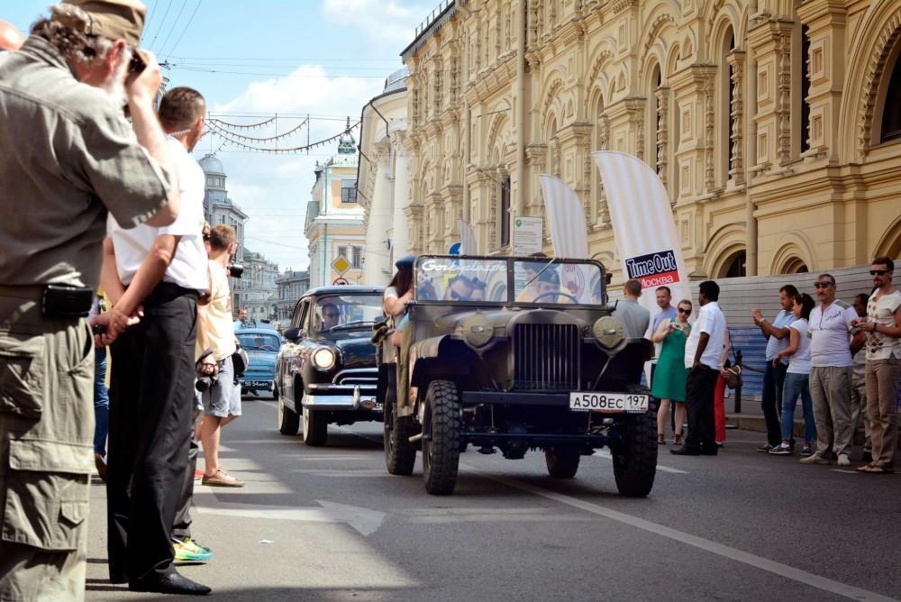 Первый советский внедорожник примет участие в ГУМ Авторалли Gorkyclassic-2015