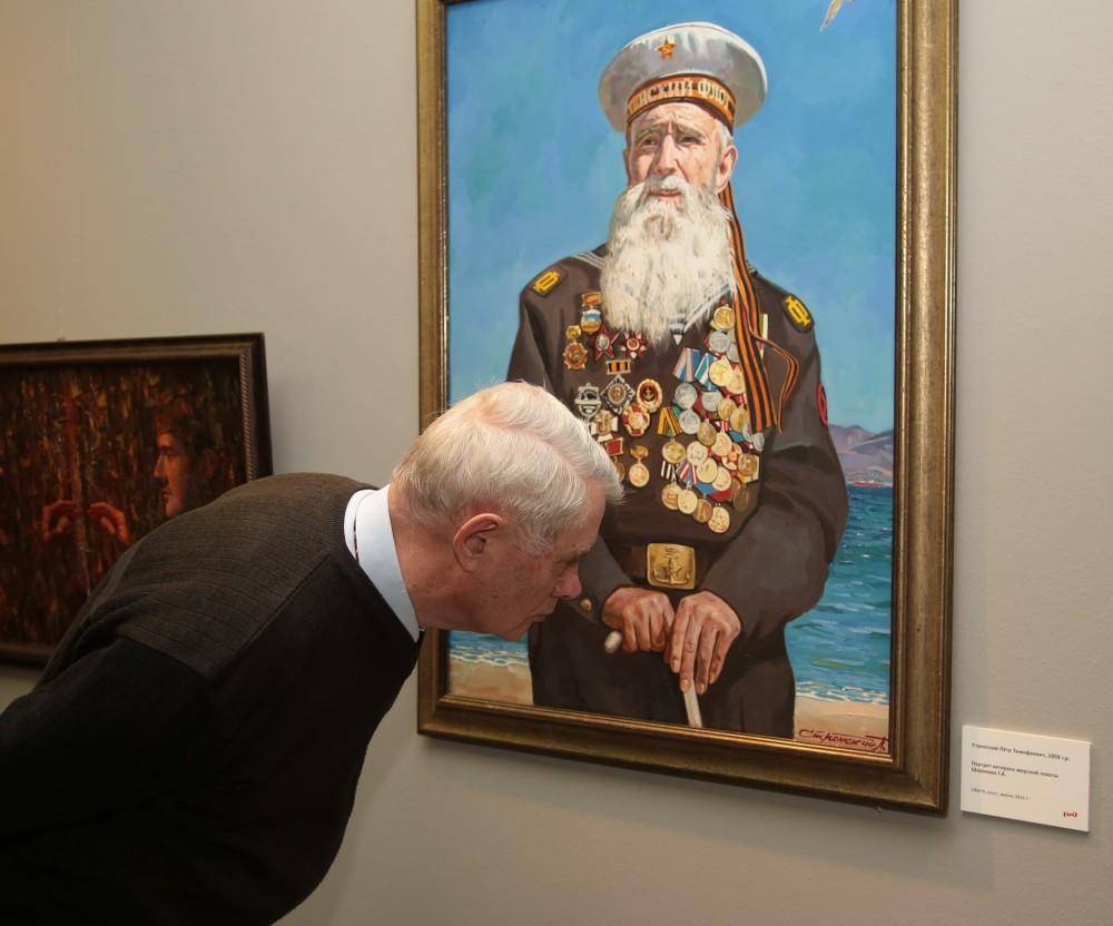 Знамена войны. Художники разных поколений. Казанский вокзал