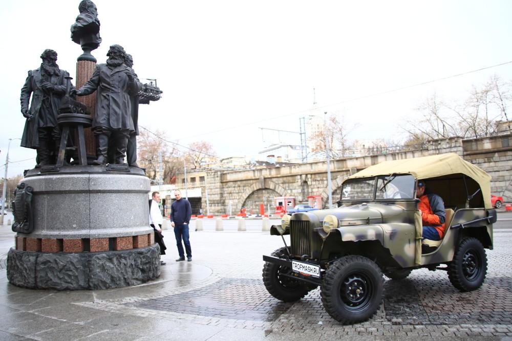 Знамена войны ГАЗ-64