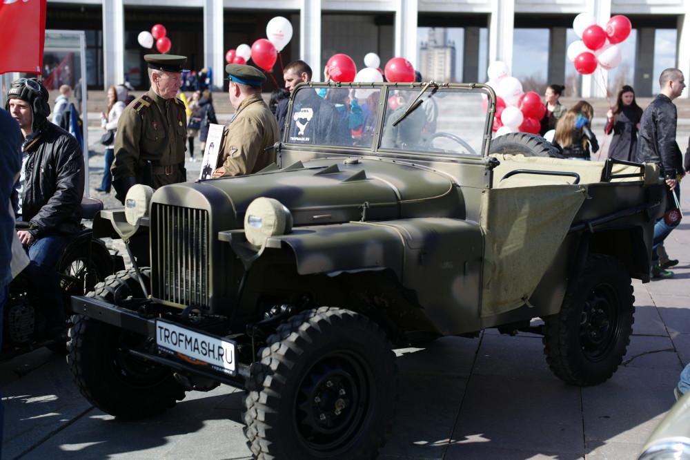 Дорогами славы ГАЗ-64