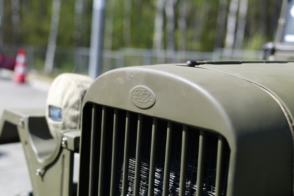 Платная дорога ГАЗ-67Б