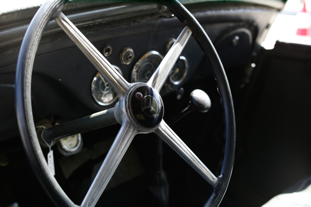 Платная дорога Mercedes 170VK Polizei