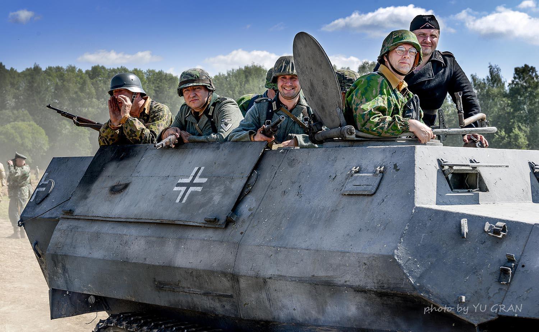 Sd Kfz 251 Поле Боя 2015