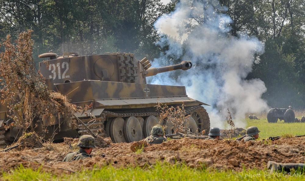 Tiger Tank Поле Боя 2015