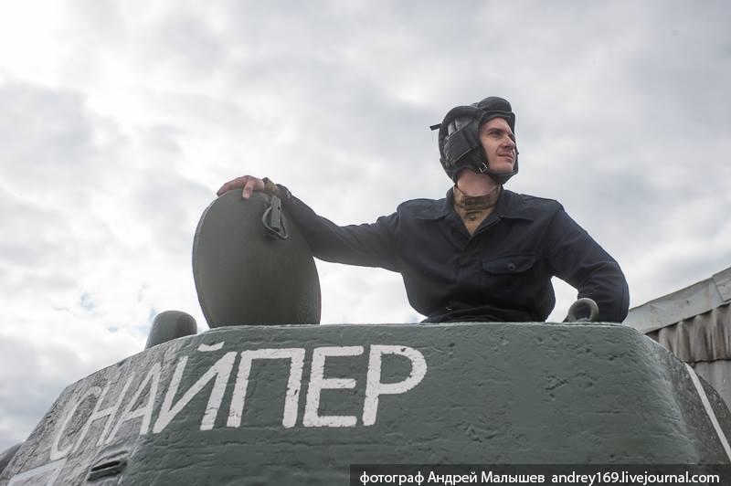 День танкиста 2015 Танковый музей в Кубинке