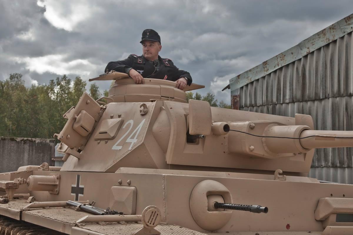 PzKpfw III День танкиста 2015 Танковый музей в Кубинке