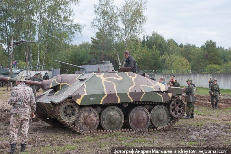 Hetzer День танкиста 2015 Танковый музей в Кубинке
