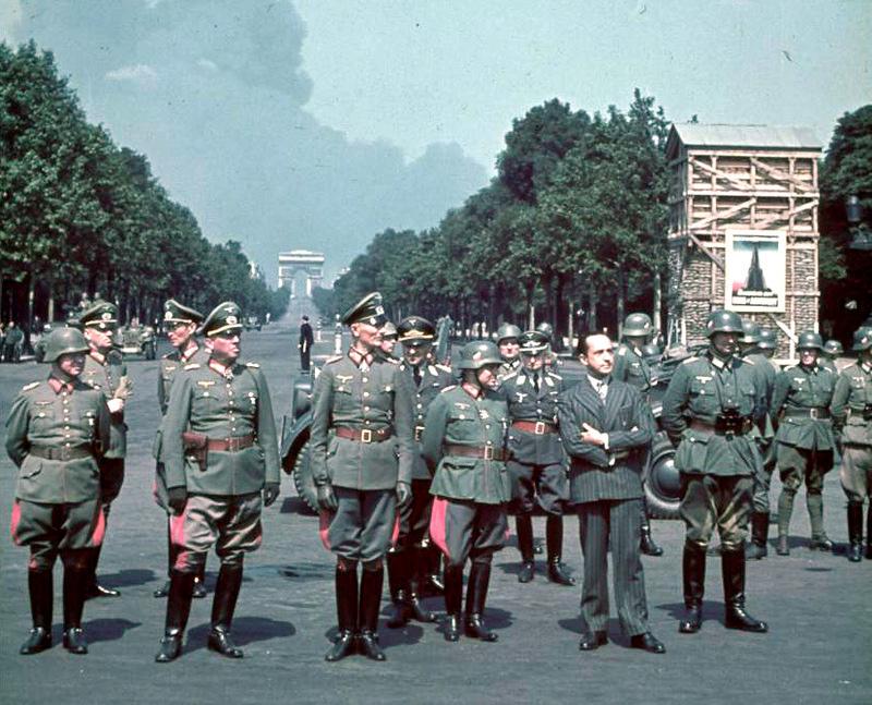 Fedor von Bock Horch 901 Paris 23 June 1940