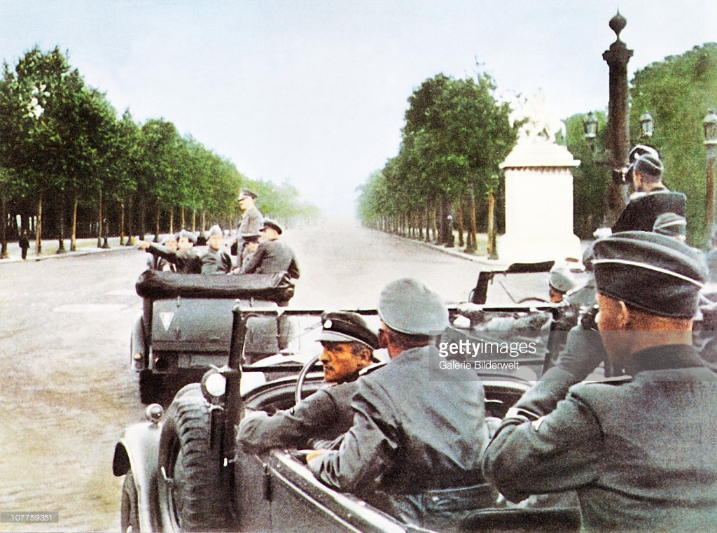 Hitelr Mercedes Benz G4 Paris June1940
