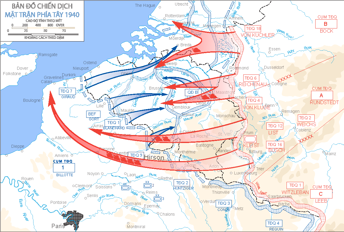 West_Front_1940Campaign Fall of France