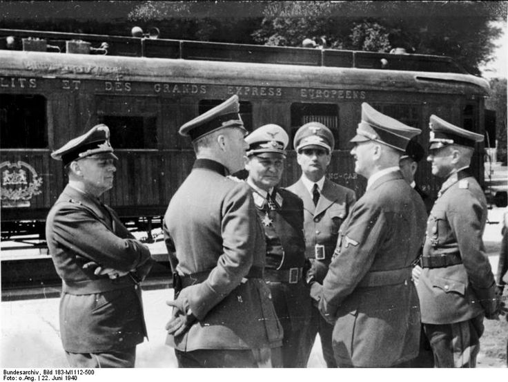 Railway Car перемирие франция 22 июня 1940