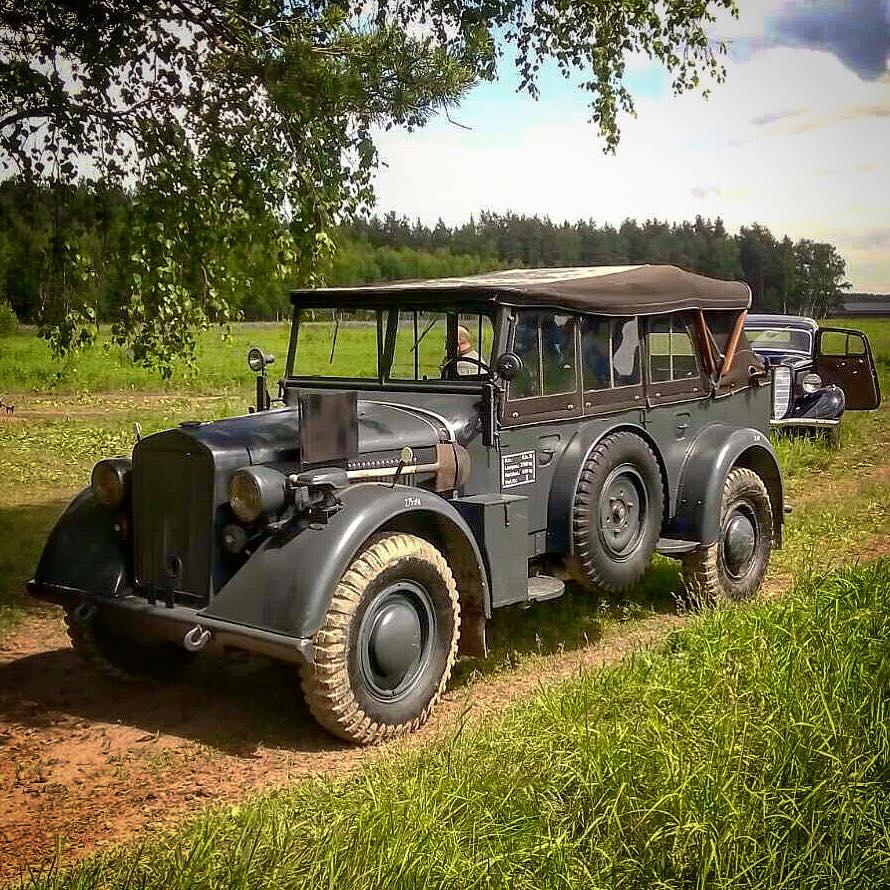 Horch 901 ГАЗ М1 Кёстринг Kostring