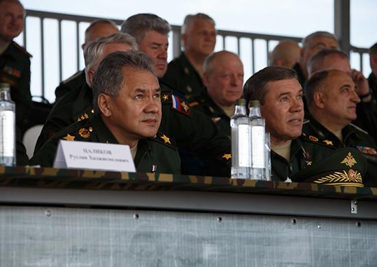 Парк Патриот министр обороны РФ Сергей Шойгу