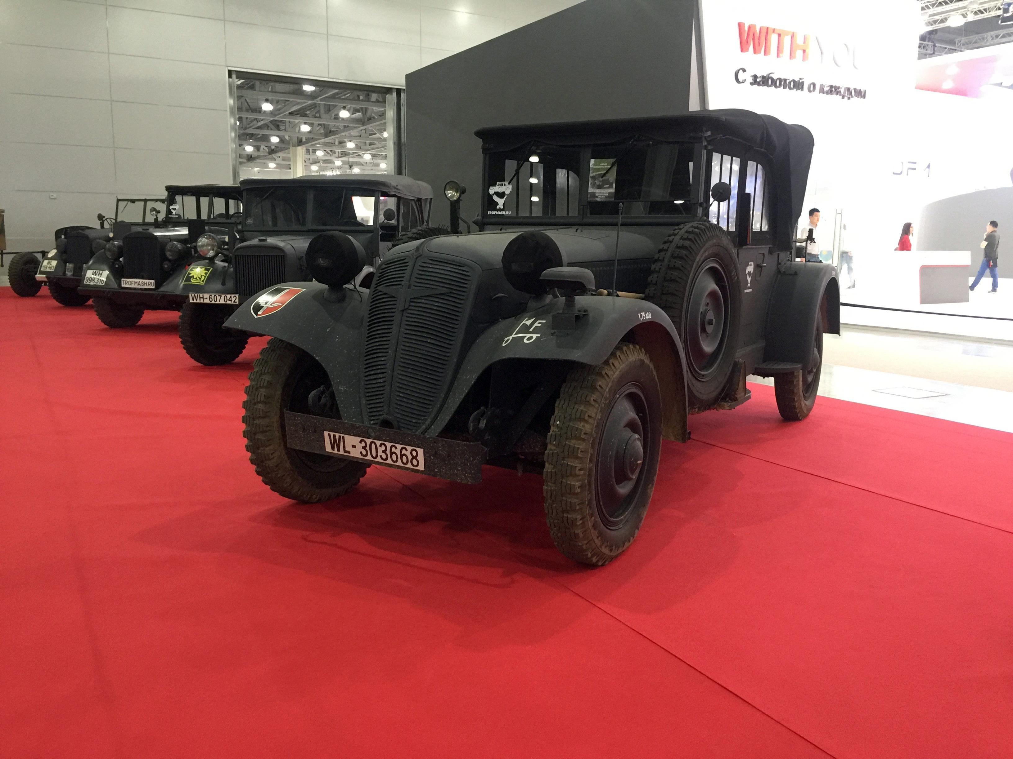 ММАС-2016. Автомобили Второй мировой на красной дорожке