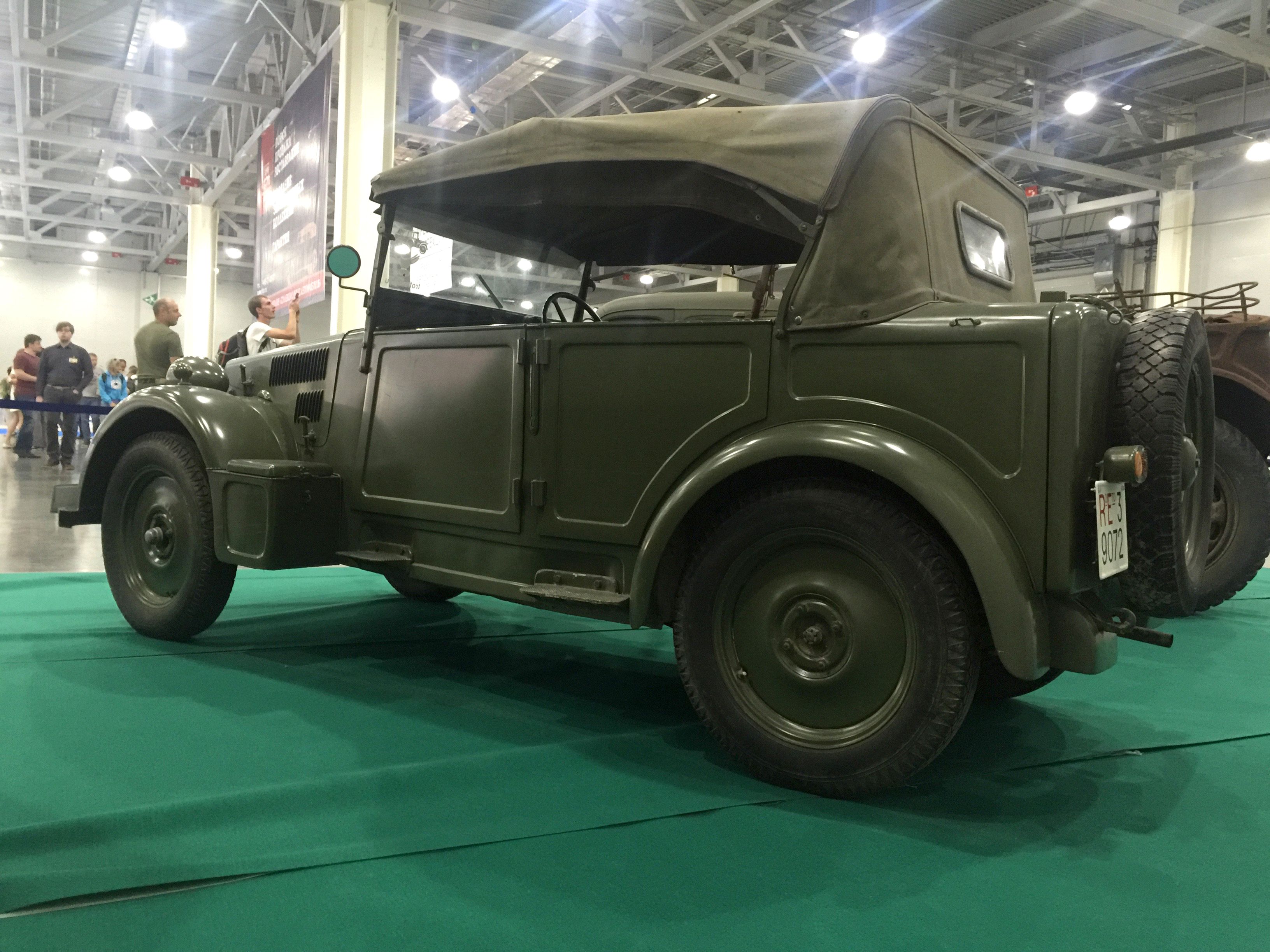 ММАС 2016 моторы войны Fiat 508CM