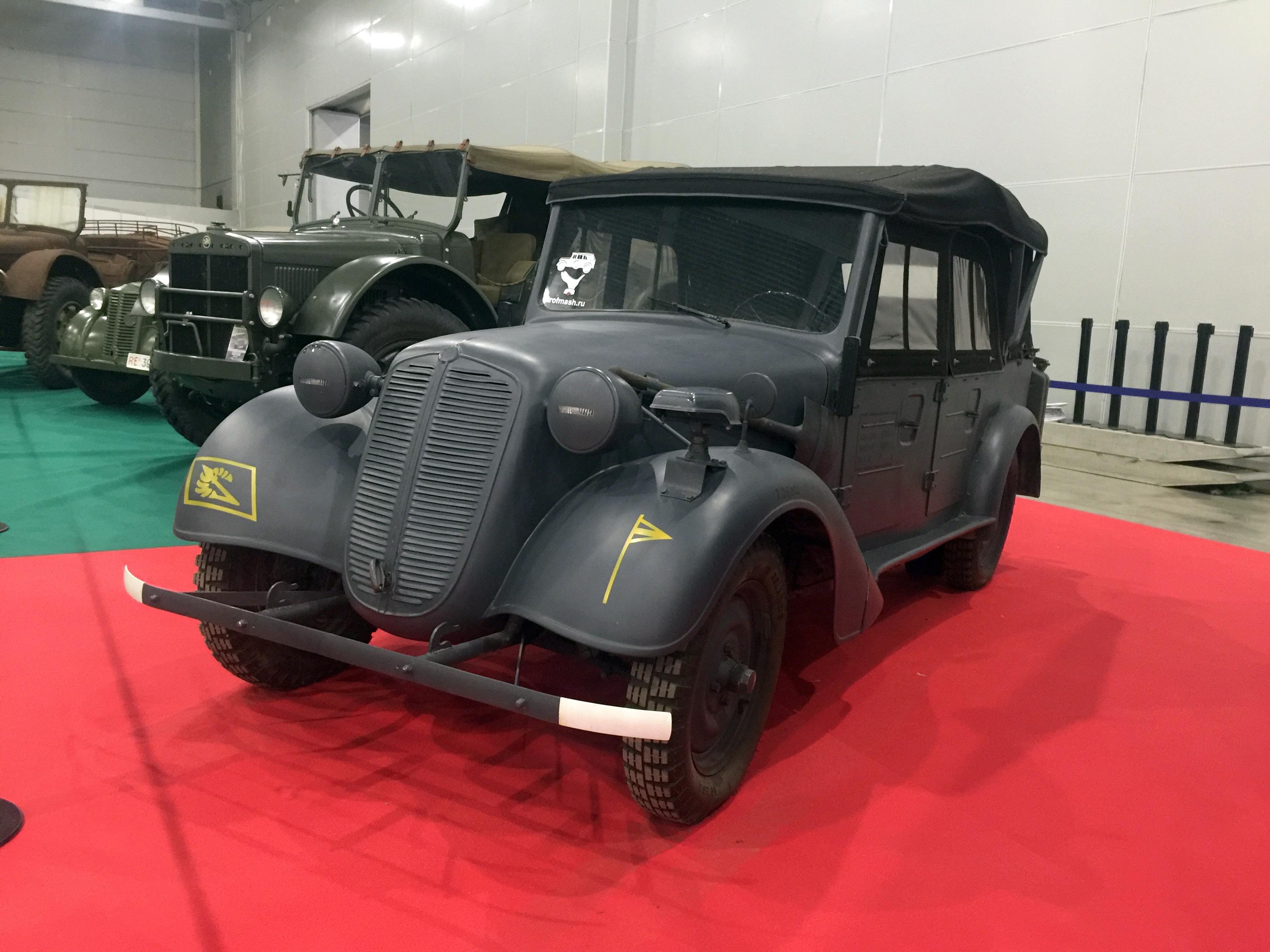 ММАС 2016 моторы войны Tatra 57K