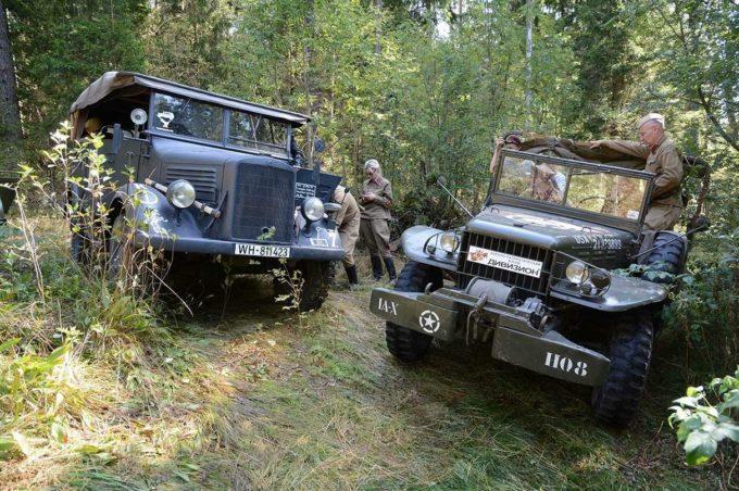 Механические хищники ВОВ снова в строю. Моторы войны 2018